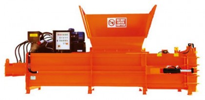 Horizontālā atkritumu prese CK450